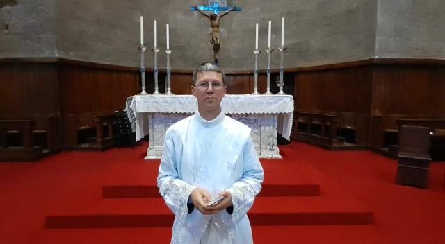 Blessing from Reverend Paul Spaine